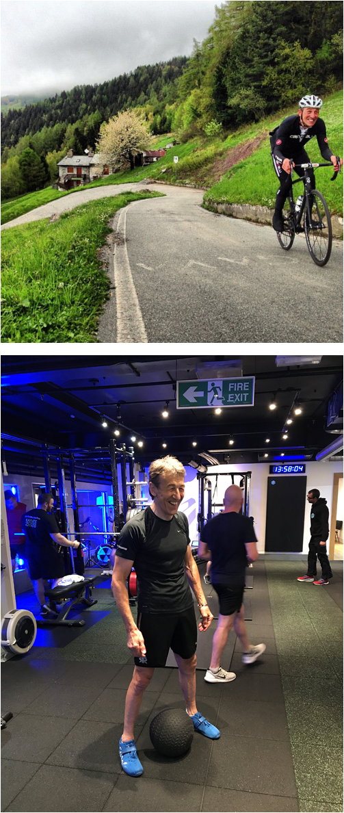 Alan Coffey - cycling performance with PerformancePro