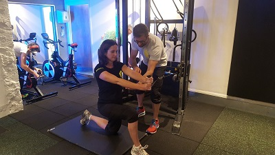 Lifestyle fitness at PerformancePro - Louise Hunt and Dan Boulle